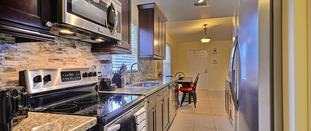 fully remodeled kitchen in our residential